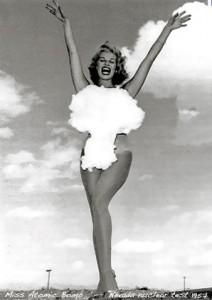 Miss Atomic Bomb - prøvesprængning Nevada 1957